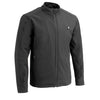 Mens Winter Heated Blk Shell Jacket with chargeable battery Light weight