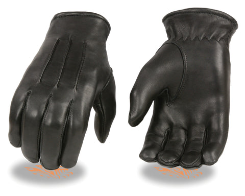 Men's American Deer skin thermal lined welted gloves with cinch wrist supplesoft
