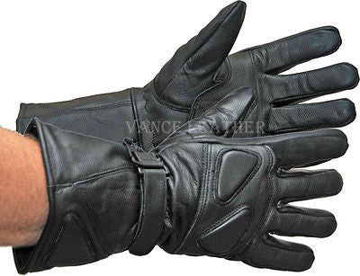 MOTORCYCLE BIKE GLOVES RIDING GLOVE PREMIUM PADDED GAUNTLET GLOVES UNISEX
