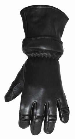 Men's American Deer skin icebreaker Guantlet with zip off cuff guantlet gloves
