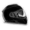 Mens Motorcycle Shiny Gloss Blk Dot approved Daytona Shadow Helmet Biker