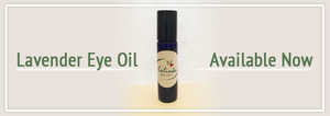 Lavender Eye Oil is ready!