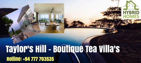 Taylor's Hill - Tea Villa's for Sale
