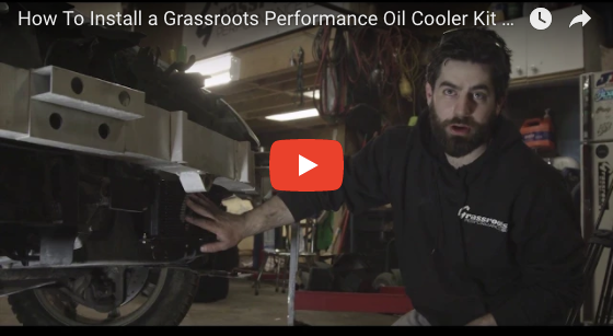 Grassroots Performance Oil Cooler Install Video