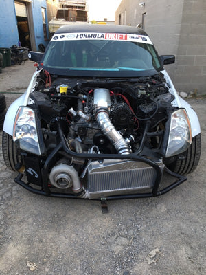 Grassroots Performance Journal Bearing Turbo Install 350z