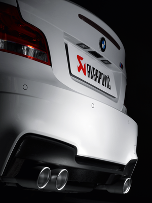 Akrapovic 11-12 BMW 1 Series M Coupe (E82) Evolution Line Cat Back (Titanium) (Req. Tips)