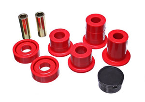 Energy Suspension 07-10 Chevy K2500/3500HD Front Diff Mount - Red