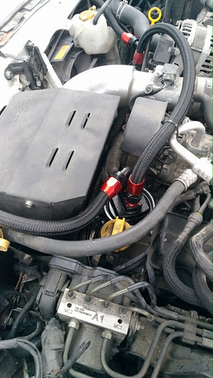 Grassroots Performance Oil Filter Relocation Kit