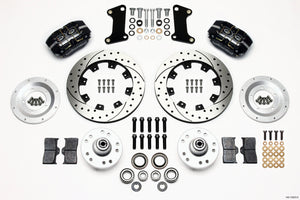 Wilwood Dynapro Dust-Boot Front Kit 12.19in Drilled 67-69 Camaro 64-72 Nova Chevelle