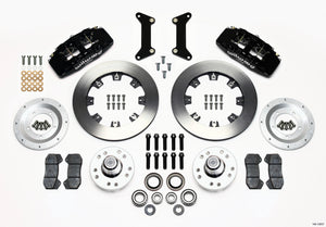Wilwood Dynapro 6 Front Hub Kit 12.19in 79-87 GM G Body