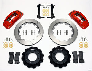 Wilwood TC6R Front Kit 16.00in Red 1999-2014 GM Truck/SUV 1500