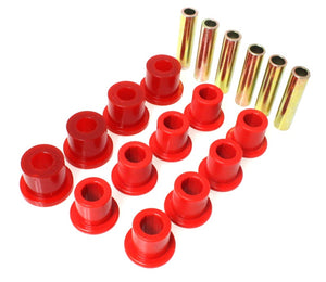 Energy Suspension Spring & Shackle Bushing - Red