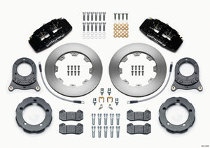 Wilwood Dynapro 6 Front Hat Kit 11.75in Rotor 66-75 Ford Bronco Dana 30/44 w/Lines