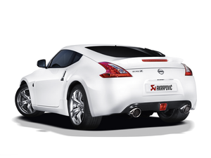 Akrapovic 09-17 Nissan 370Z Evolution Line Cat Back (SS) (Req. Tips)