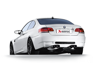 Akrapovic 07-13 BMW M3 (E92 E93) Evolution Line w/ Cat (Titanium) (Req. Tips)