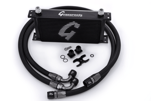 BMW E36/E46/E82/E9X Direct-Fit 19-Row Oil Cooler Kit