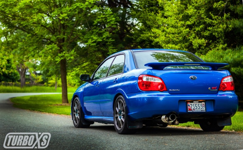 Turbo XS 02-07 WRX-STi Catback Exhaust Polished Tips