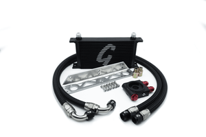 Grassroots Performance Universal 19-Row Thermostatic Oil Cooler Kit