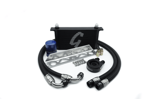 Grassroots Performance Universal Bolt-On Oil Cooler Kit with Oil Filter