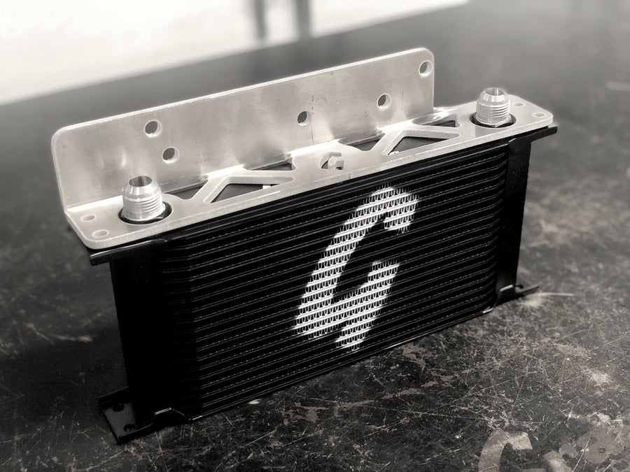 grassroots Nissan 350z, g35 performance Oil Cooler Kit