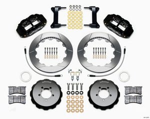Wilwood Narrow Superlite 6R Front Hat Kit 12.88in 2012-Up Toyota / Scion FRS w/ Lines