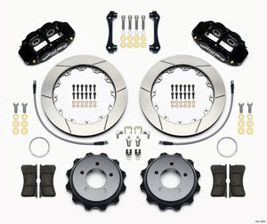 Wilwood Narrow Superlite 4R Rear Kit 12.88in 2008-up Hyundai Genesis Coupe w/Lines