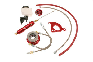 McLeod Hyd Kit 1979-04 Mustang W/24in Line & Male Wire Clip To An4 Male
