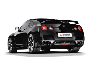 Akrapovic 08-17 Nissan GT-R Evolution Line Cat Back (Titanium) (Req. Tips)