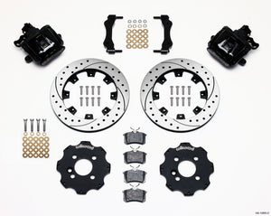 Wilwood Combination Parking Brake Rear Kit 11.75in Drilled Mini Cooper