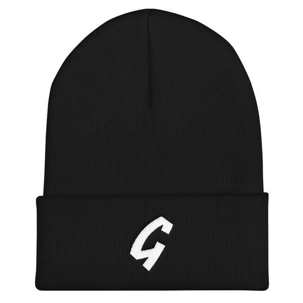 Grassroots Embroidered Cuffed Beanie