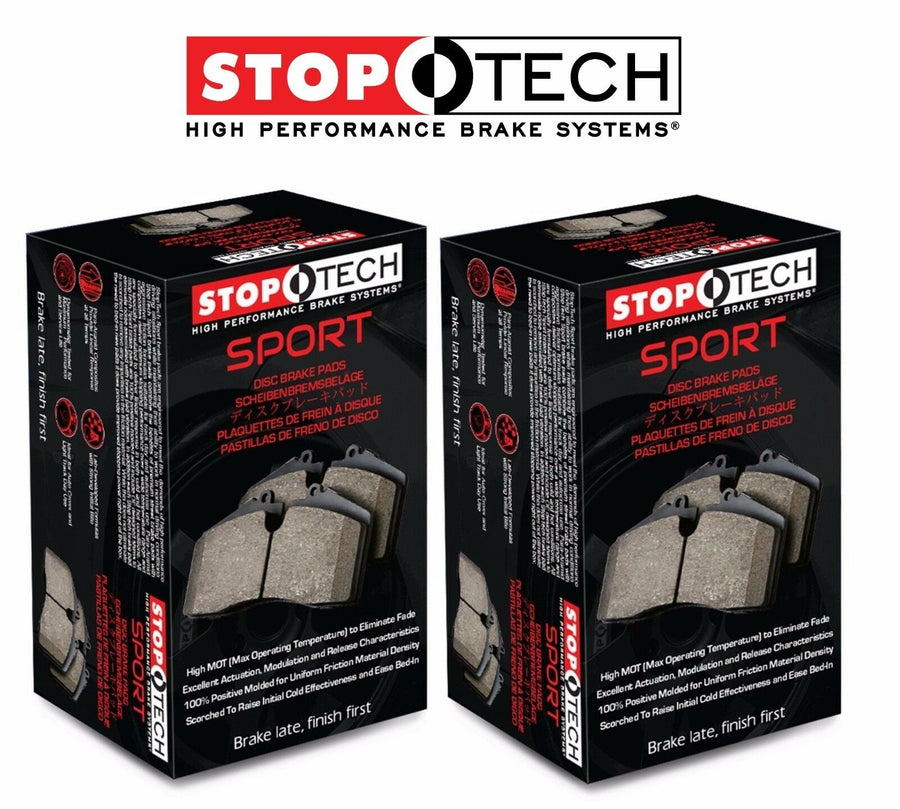 StopTech 240sx Front + Rear Brake Kit