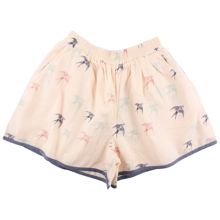 Emily Short white Peach