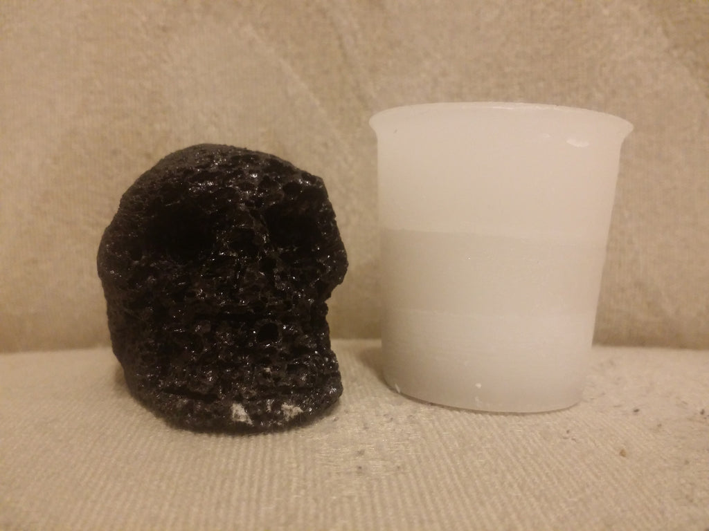 carving lava skull small - Shaman's Dream Gifts