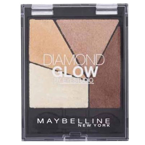 Maybelline Diamond Glow Eyeshadow by EyeStudio - 02 Coral Drama