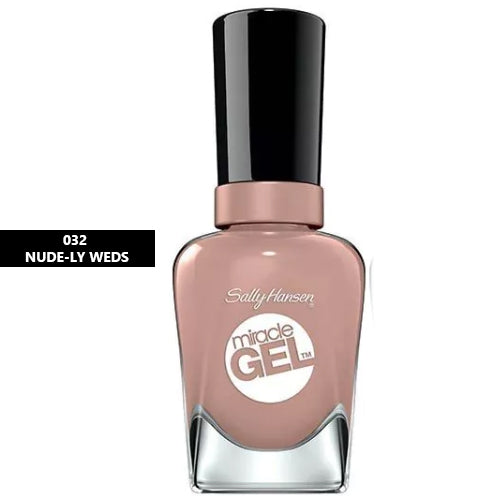 Sally Hansen Miracle Gel Nail Polish 032 Nude-ly Weds 14.7ml