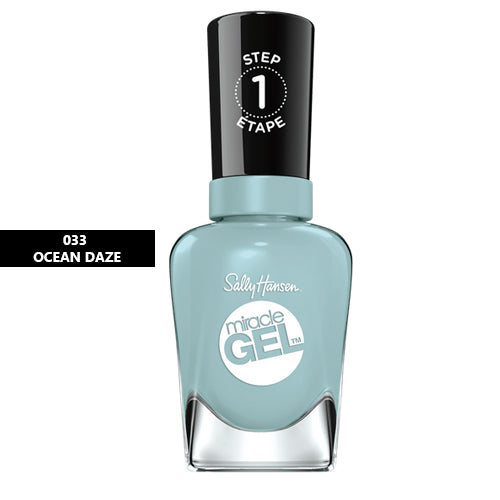 Sally Hansen Miracle Gel Nail Polish 033 Ocean Daze 14.7ml