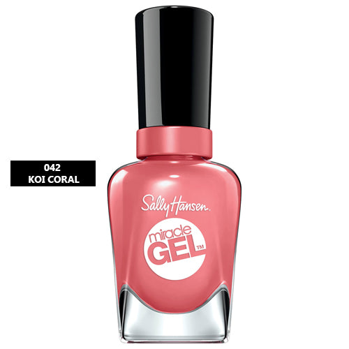 Sally Hansen Miracle Gel Nail Polish 042 Koi Coral 14.7ml