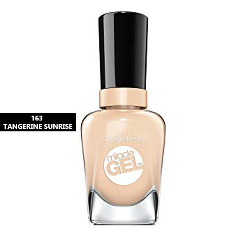 Sally Hansen Miracle Gel Nail Polish 163 Tangerine Sunrise 14.7ml
