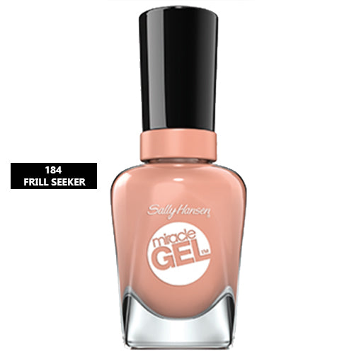 Sally Hansen Miracle Gel Nail Polish 184 Frill Seeker 14.7ml
