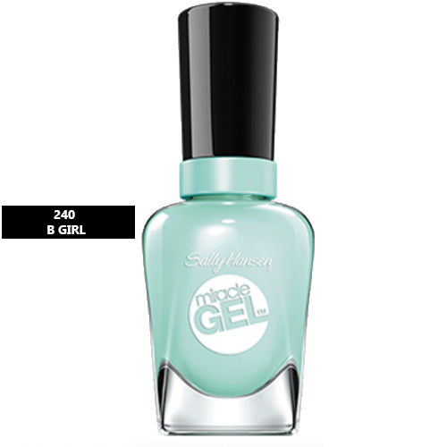 Sally Hansen Miracle Gel Nail Polish 240 B Girl 14.7ml