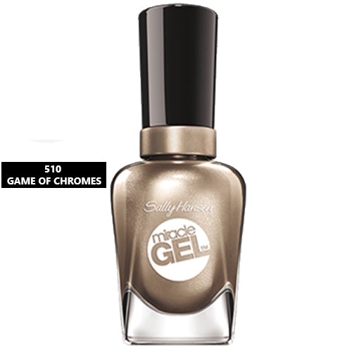 Sally Hansen Miracle Gel Nail Polish 510 Game of Chromes 14.7ml