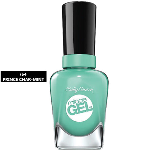 Sally Hansen Miracle Gel Nail Polish 754 Prince Char-Mint 14.7ml