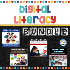 Digital Literacy Bundle - Staying Cool in the Library