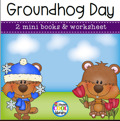 Groundhog Day Mini Books