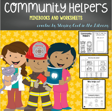 Community Helper Mini Books