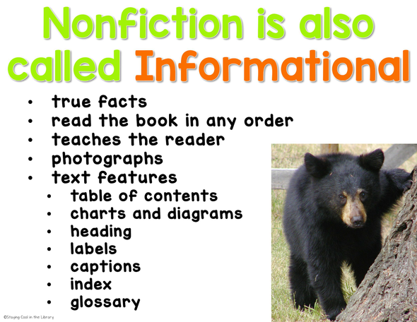 Fiction vs Nonfiction Activities for Google Slides