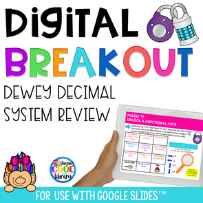 dewey decimal system digital breakout - staying cool in the library