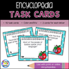 Encyclopedia Task Cards Set - Staying Cool in the Library