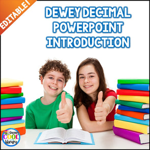 Dewey Decimal System Introduction PowerPoint Lesson - Staying Cool in the Library