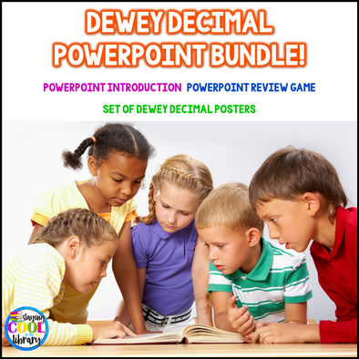 Dewey Decimal System PowerPoint Bundle - Staying Cool in the Library